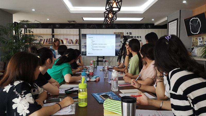 Besuch einer Delegation chinesischer Pflegeexperten